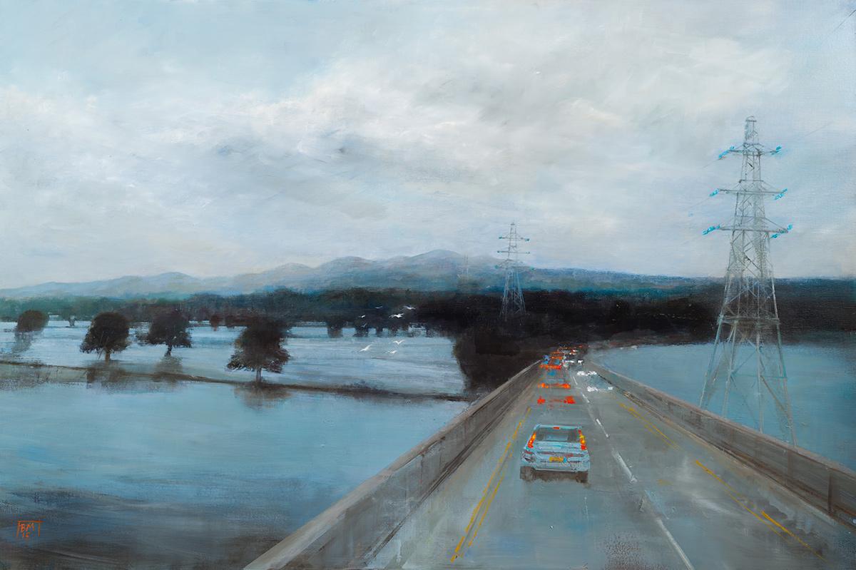 The Bridge Across the Flooded River (2015)