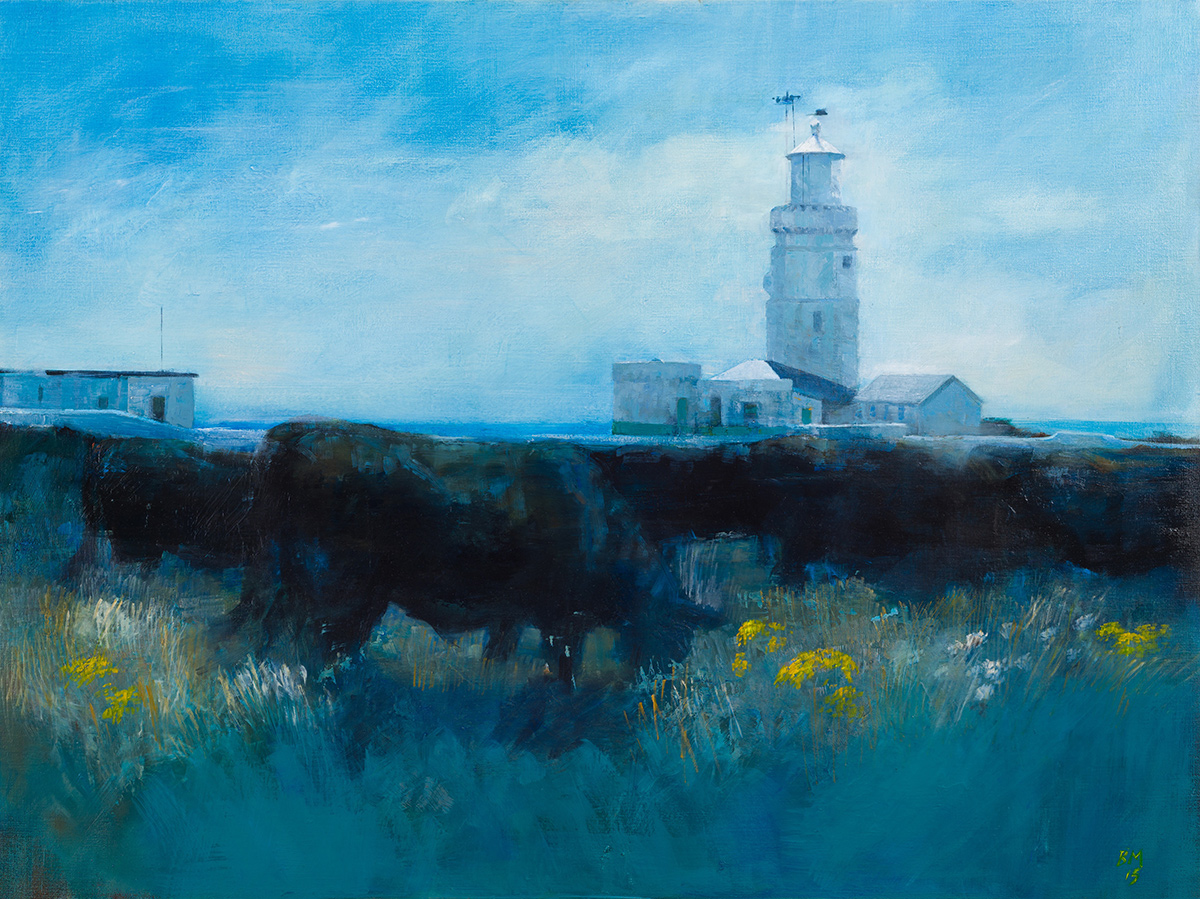Lighthouse and Black Cattle (2015)