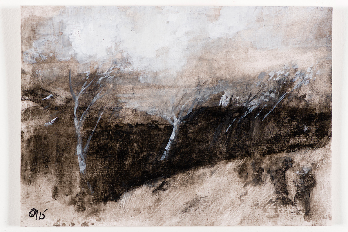 Study after Samuel Palmer's The White Cloud (2015)